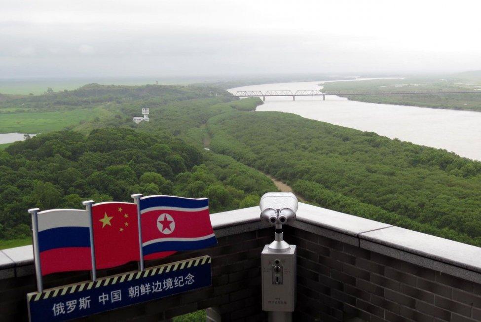 Tripoint Memorial in Fangchaun, China