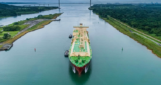 Entrance to the Panama Canal